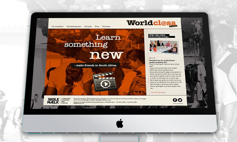 Kreativ linie Skolemælk Worldclass